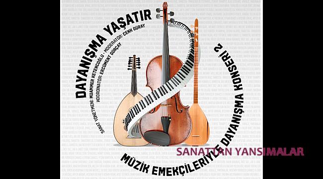Müzik Emekçileri'ye Dayanışma Konseri