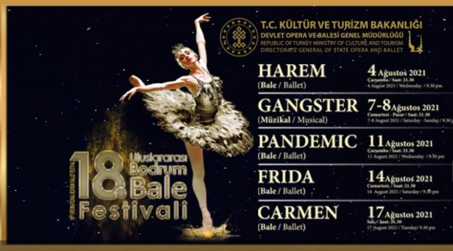 18. Bodrum Bale Festivali Ağustos'ta