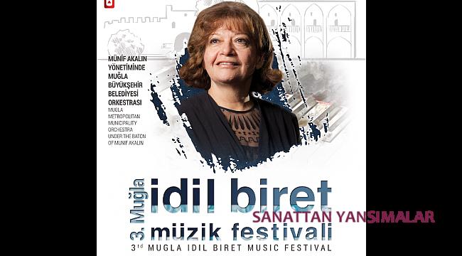 3. İdil Biret Festivali Ağustos'ta Marmaris'te