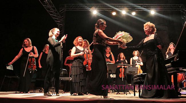 Gülsin Onay & Ancyra Ensemble, Gümüşlük Festivalini Açtı