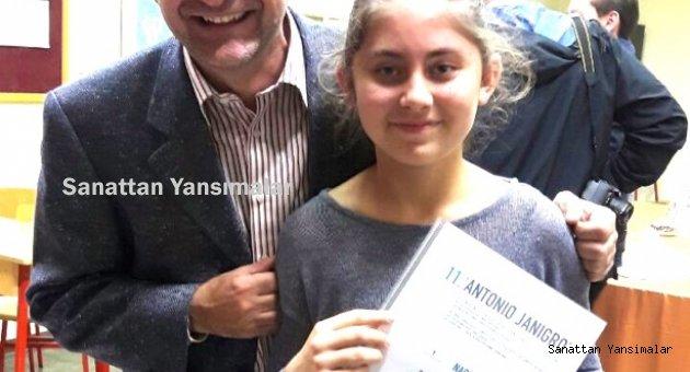 12 yaşındaki çellist İdil Bursa'nın başarısı