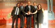 Bursa Filarmoni Derneği'ne Kültüre Katkı Ödülü