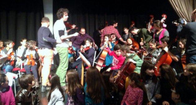 Tepebaşı Çocuk Senfoni Orkestrası kuruldu