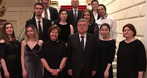 Moskova'da Türk öğrencilerin Rezidans konseri
