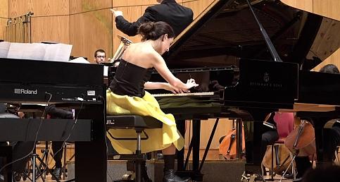 AyseDeniz Gokcin VIGO Orkestra Konseri-İspanya