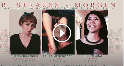 Elif Canbazoğlu'nun Sesinden bir Strauss Lied
