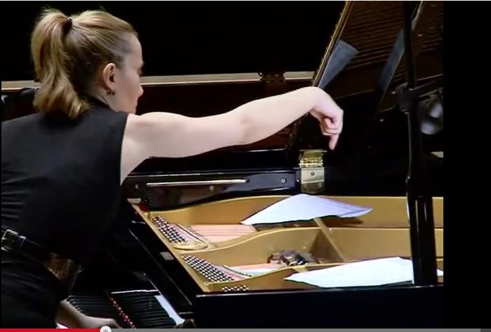 Henry Cowell / Elif Önal (piyanist) Aoelian Harp
